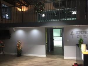 Studio B entrance