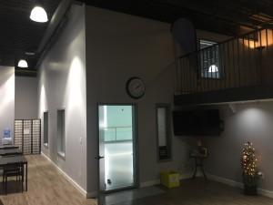 Studio A entrsnce